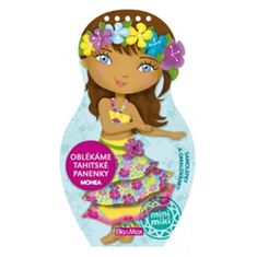 Oblékáme tahitské panenky - Mohea