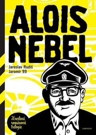 Rudiš Jaroslav, Jaromír 99,: Alois Nebel -Kreslená román.trilogie