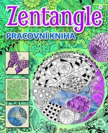 Mabaix Jane: Zentangle - Pracovní kniha