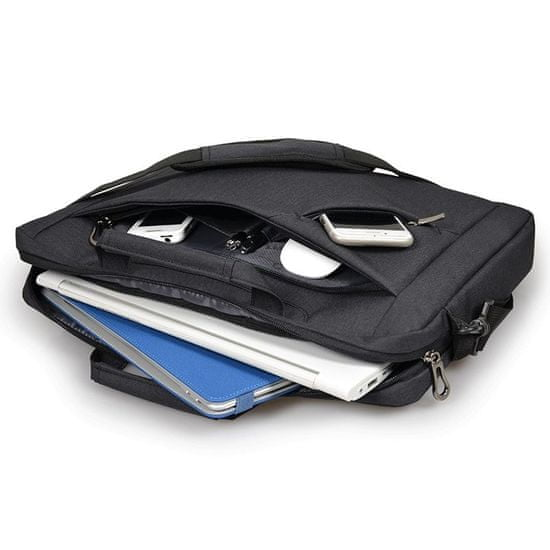 Port Designs SYDNEY Toploading brašna na 13/14'' notebook a 10,1'' tablet, čierna 135071