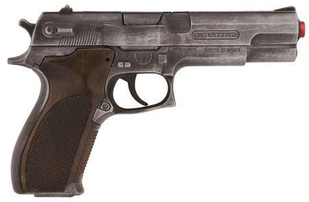 Gonher Policyjny pistolet na kapiszony metaliczny