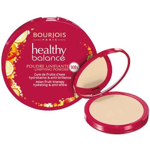 Bourjois Kompaktní pudr Healthy Balance (Asian Fruit Therapy Hydrating & Anti-Shine) 9 g (Odstín 55 Beige Fon