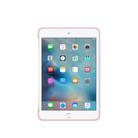 Apple ovitek iPad mini 4 Silicone Case - Roza pesek