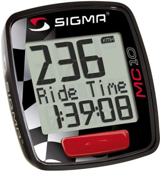 Sigma MC 10 Moto Motoros sebességmérő