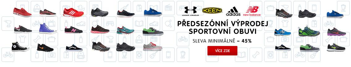 Předsezónní výprodej obuvi pro celou rodinu - sport, turistika, volný čas