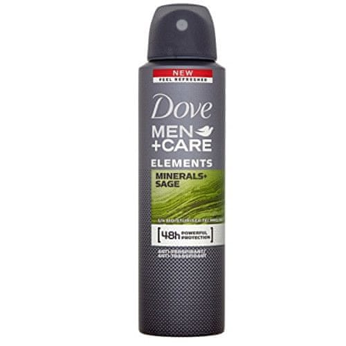 Dove Deodorant ve spreji pro muže Elements Minerals & Sage Men+Care