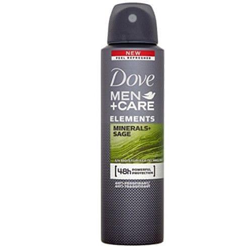 Dove Deodorant ve spreji pro muže Elements Minerals & Sage Men+Care
