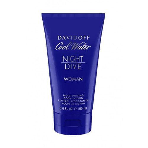 Davidoff Cool Water Night Dive For Women - tělové mléko 150 ml