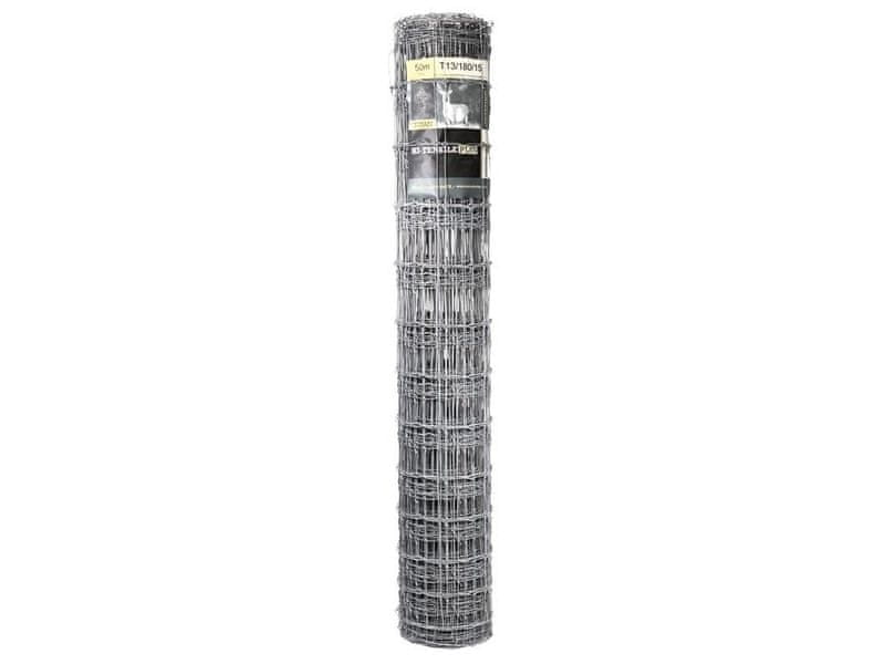 Uzlové pletivo TITAN Zn 1800/13/150 - výška 180 cm