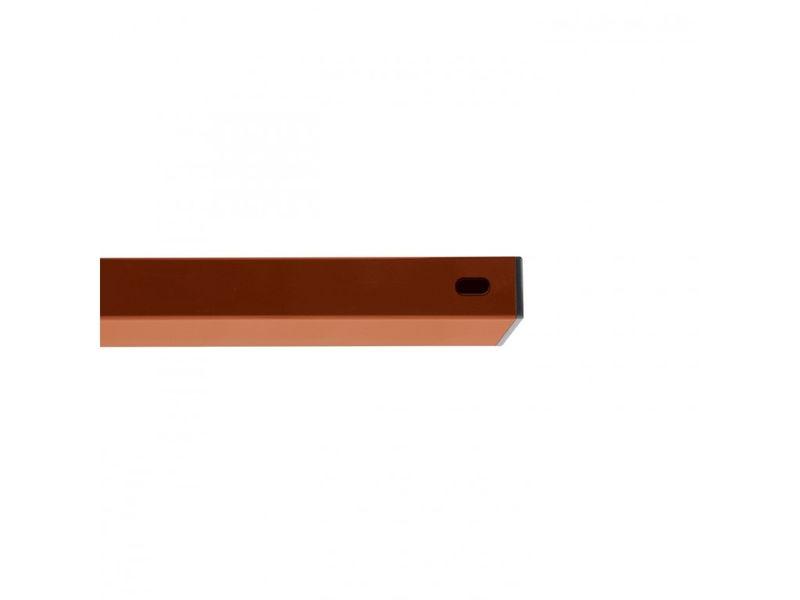 Příčník 60×40 mm, délka 2000 mm, barva červenohnědá