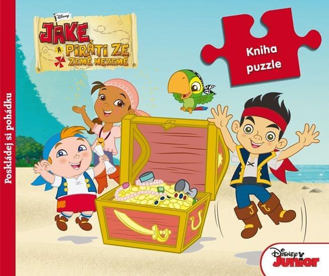 Disney Walt: Pirat Jake - Kniha puzzle