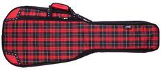 Lorz Skinny Dreadnought Tartan Obal pro akustickou kytaru