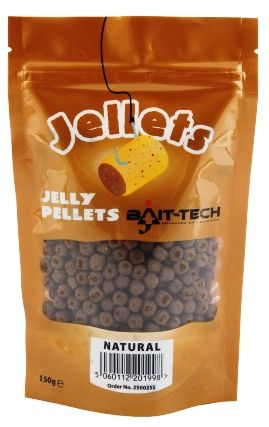 Bait-Tech pelety měkčené 6 mm 150 g natural