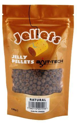 Bait-Tech pelety měkčené 6 mm 150 g natural