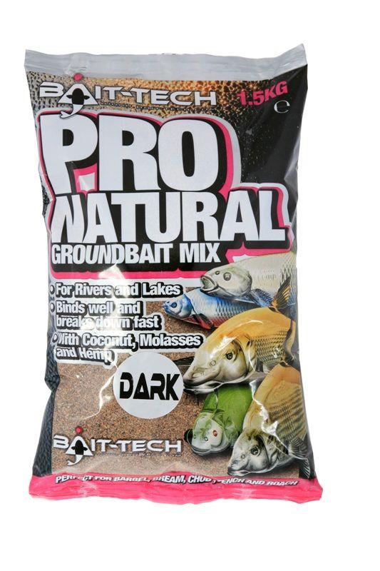 Bait-Tech krmítková směs pro-natural groundbait 1,5 kg