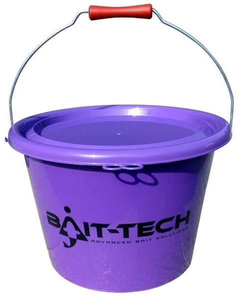 Bait-Tech Kbelík Groundbait Bucket - Purple