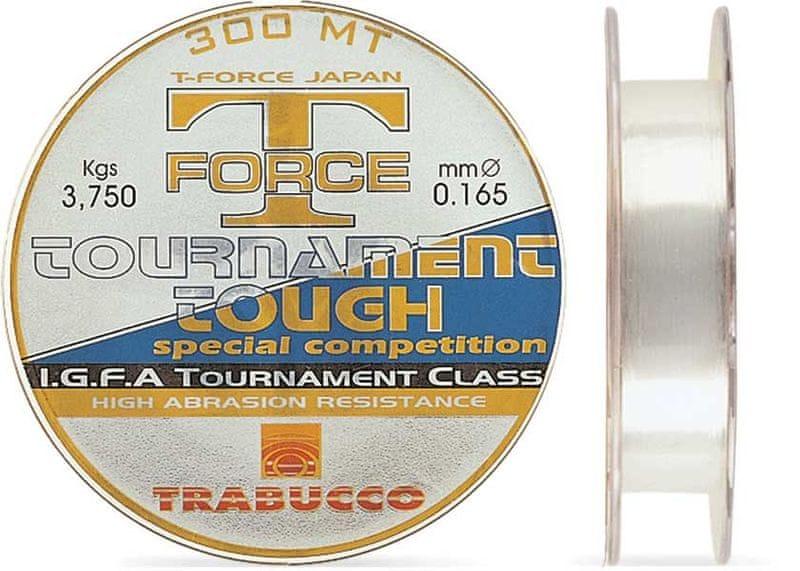 Trabucco Vlasec T-Force Tournament Tough 150 m Crystal 0,106 mm, 1,45 kg