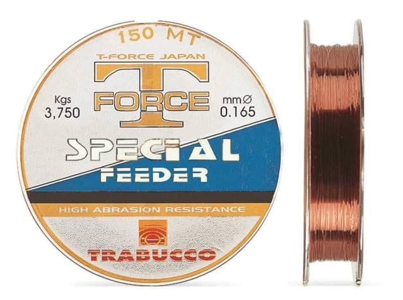 Trabucco Vlasec T-Force Special Feeder 150 m Brown 0,16 mm, 3,75 kg