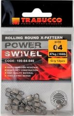 Trabucco obratlík pevnostní rolling round x-pattern