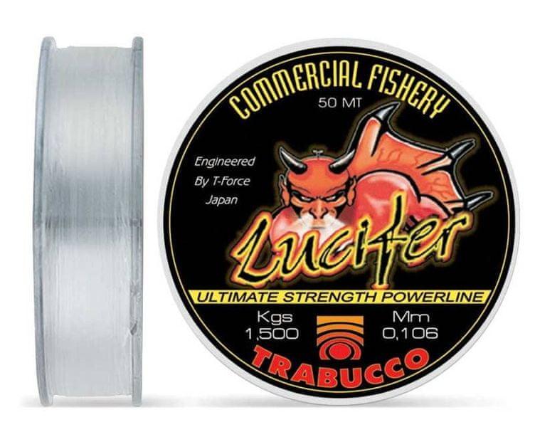 Trabucco Vlasec T-Force Lucifer 50 m crystal 0,12 mm, 2,15 kg