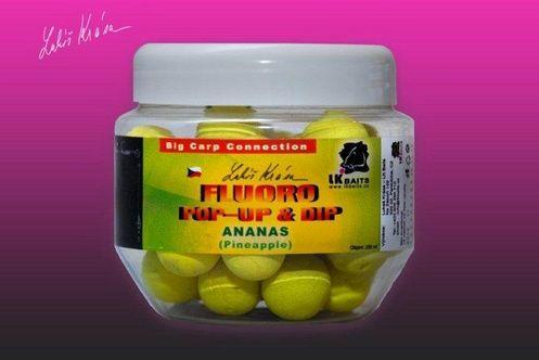 Lk Baits Boilies Pop-Up Fluoro boilie 250 ml 10/18 mm, neutral mix