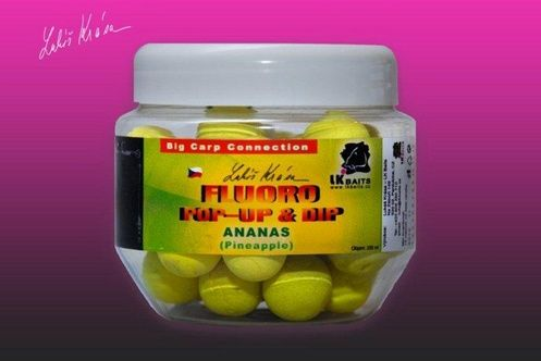 Lk Baits Boilies Pop-Up Fluoro boilie 250 ml 18 mm, kapří tajemství
