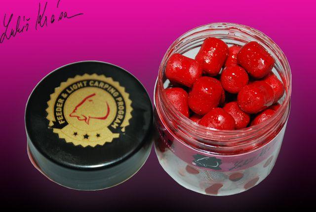 Lk Baits rybářské nástrahy balanc pellets 12 mm 150 ml wild strawberry