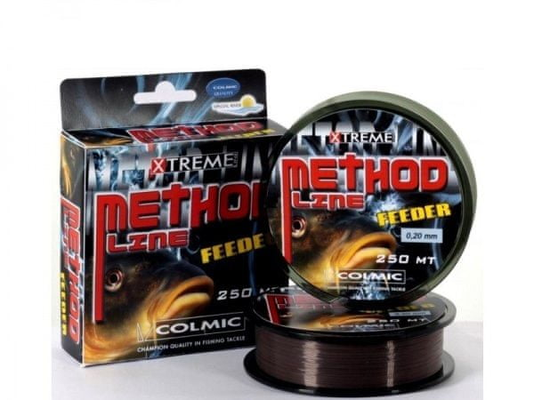 Colmic Vlasec Method Feeder Brown 250 m 0,20 mm, 4,7 kg