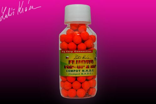 Lk Baits Boilies Pop-Up Fluoro boilie 10 mm 150 ml kapří tajemství,