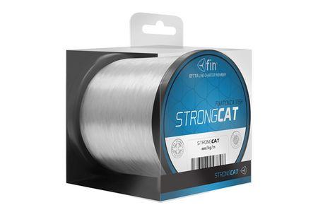 FIN Vlasec Strong Cat Transparentní 0,50 mm 31,7 lb 2000 m