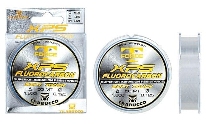 Trabucco Vlasec T-Force XPS Fluoro Carbon 50 m 0,104 mm, 1,45 kg