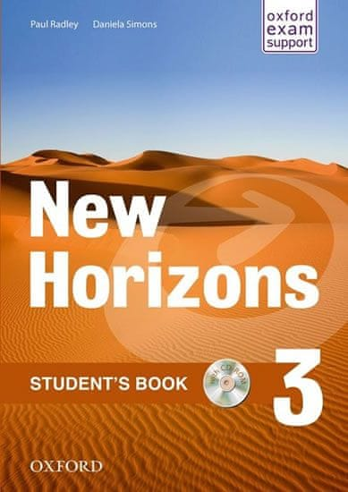 Radley Paul: New Horizons 3 Students´s Book with CD pack