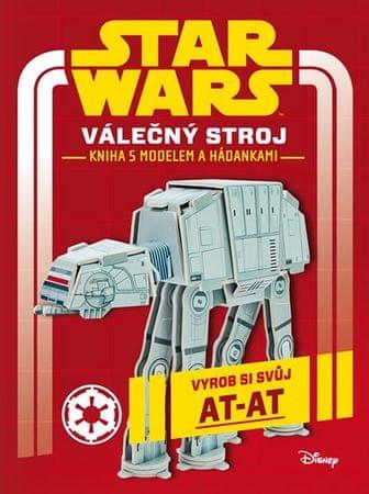 Disney Walt: Star Wars - Válečný stroj - Kniha s modelem a hádankami