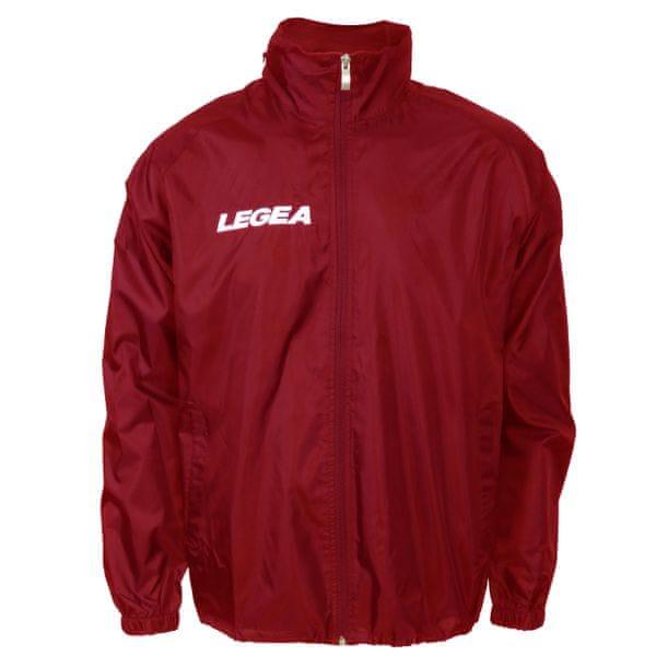 LEGEA šusťáková bunda Italia červená velikost M
