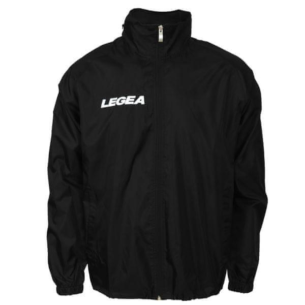 LEGEA šusťáková bunda Italia černá velikost M