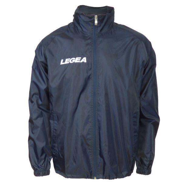 LEGEA šusťáková bunda Italia tmavě modrá velikost 3XS
