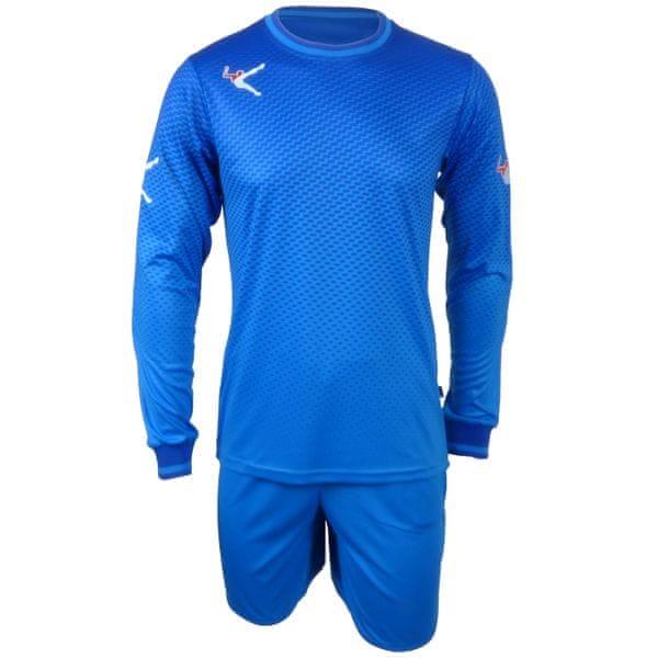 LEGEA brankářský komplet Anfield modrý velikost S