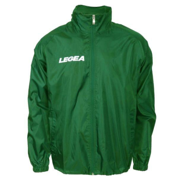 LEGEA šusťáková bunda Italia zelená velikost 3XS