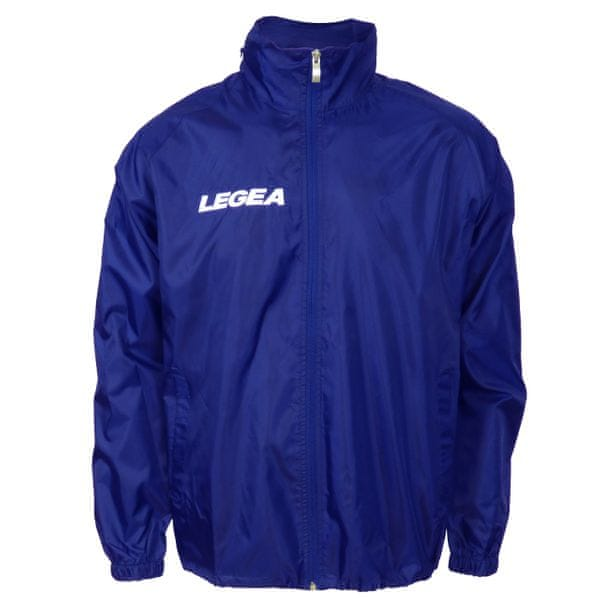 LEGEA šusťáková bunda Italia modrá velikost XS