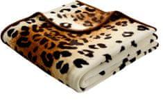 Biederlack Koc De Luxe Leopard