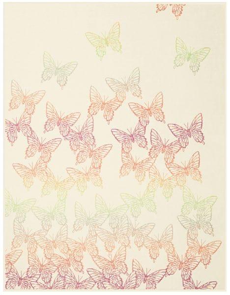 Biederlack letní deka Schmetterlinge 150x200 cm