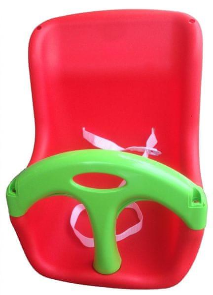Marian Plast sedátko BABY se zábranou červené