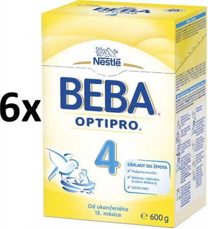 Nestlé BEBA PRO 4 Kojenecké mléko - 6x600g