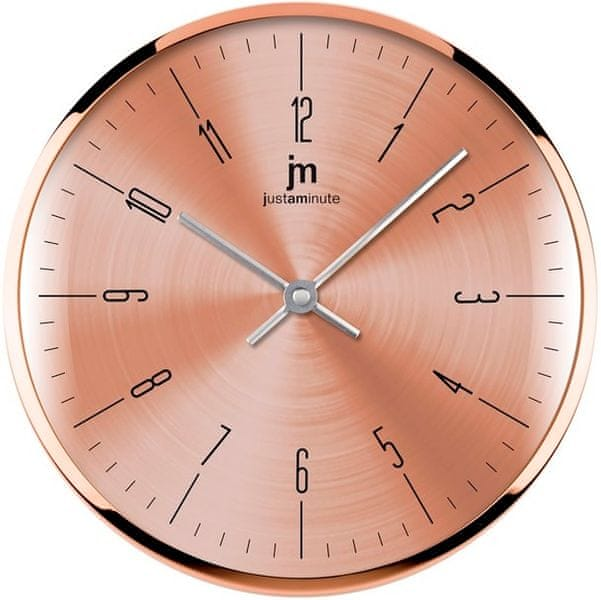 Lowell Designové nástěnné hodiny 14949R