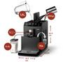 8 - Philips samodejni espresso kavni aparat HD8829/09
