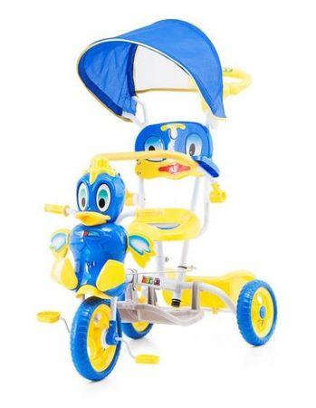 Chipolino Duck tricikli kupolával - blue