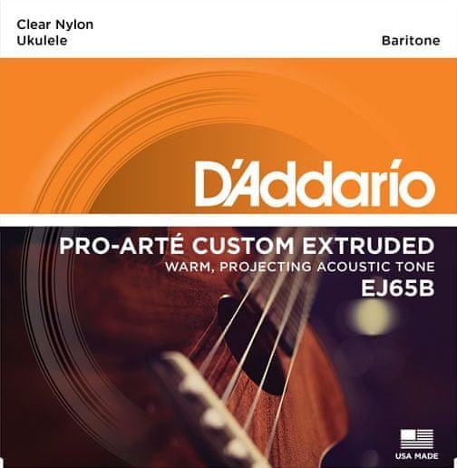 Daddario EJ65B Struny pro barytonové ukulele