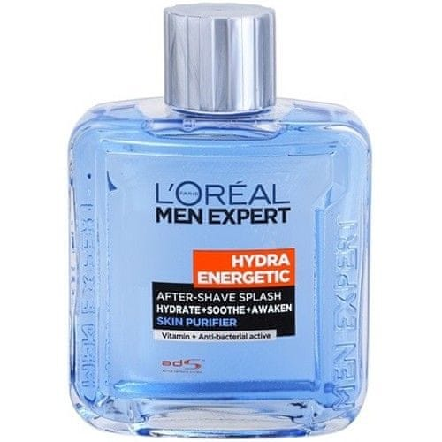 L'Oréal Voda po holení Men Expert (Hydra Energetic After-Shave Splash) 100 ml