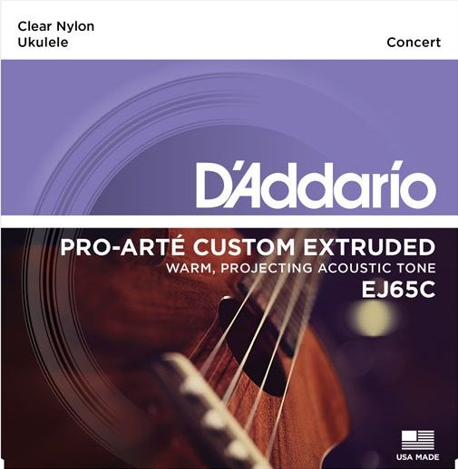 Daddario EJ65C Struny pro koncertní ukulele