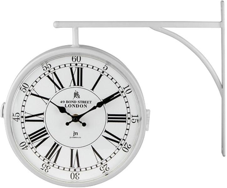 Lowell Oboustranné nástěnné hodiny 14755